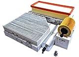 Original Audi Teile Inspektionspaket 2.0 TDI A5 8T Q5 8R A4 8K Service Filter Öl Luft Pollen Dieselfilter Motor