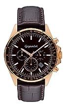 Gigandet VOLANTE Herren Armbanduhr Chronograph Analog Quarz Rotgold Braun G3-004