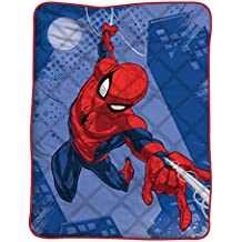 T & F 8050538312122 Colcha Cama Individual Spider-Man Marvel, Microfibra, ...