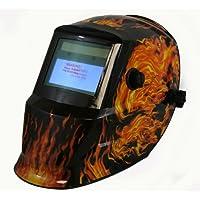 TruePower 09 – 1725 Solar oscurecimiento automático MIG TIG máscara de calavera casco de soldadura soldador