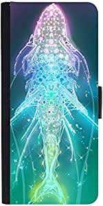 Snoogg Digital Fishy Designer Protective Flip Case Cover For Samsung Galaxy A...