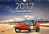 TWIKE Maroc 2017 - E-Pionier in Marokko (Wandkalender 2017 DIN A4 quer): Seit 5 Jahren ist das Elektrofahrzeug TWIKE zwischen Deutschland und Marokko ... 14 Seiten ) (CALVENDO Mobilitaet)