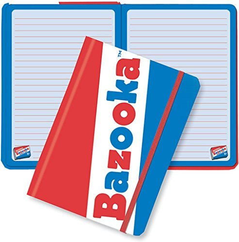iscream Bazooka Bubble Gum Hard Covered Journal by iscream (Gum Bazooka Bubble Bazooka)