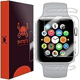 Skinomi TechSkin, Schutzfolie für Apple Watch Series 3 (38 mm), Vorder- und Rückseite, wasserdicht