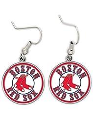 Boucles d'oreilles rouges Boston Sox Oreille