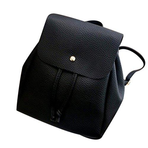 Bolsos Para mujer, RETUROM Mujer de ocio lazo mochila hombro mochila para la mochila del estudiante