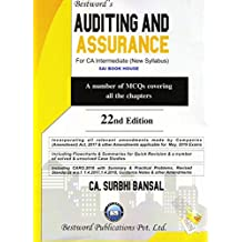 Bestword's Auditing And Assurance For CA Inter (New Syllabus) By CA. Surbhi Bansal