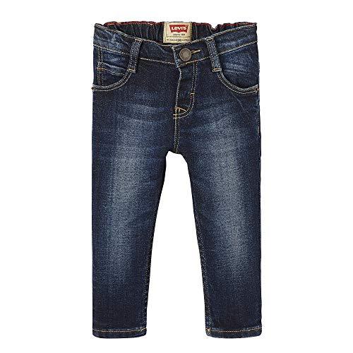 Levi's kids nn22024 46 trousers, jeans bimbo, blu (indigo, 12-18 mesi (taglia produttore: 18m)