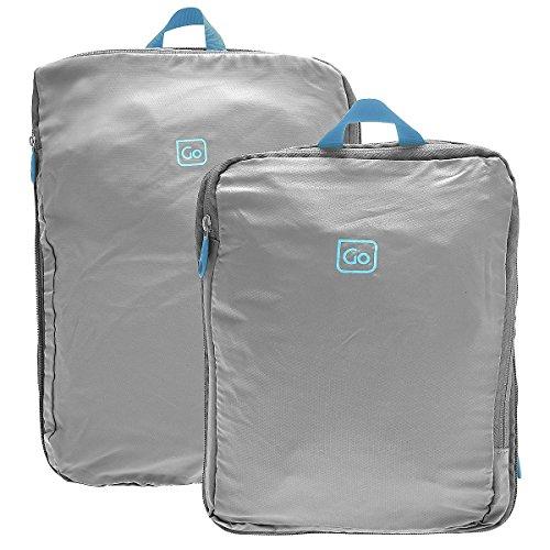 go-travel-trolley-espandibili-con-cerniera-organiser-cubi-in-una-varieta-di-colori