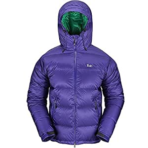 RAB Mens Neutrino Endurance Down Jacket - Color Purple - Size XL