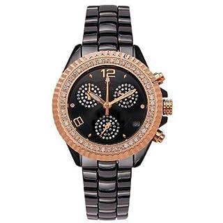 Aqua Master 1.25ct Diamonds Ceramic 35mm Ladies Small Watch