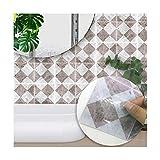 TMSE Küchen Wandtattoo Natürliche frische HD-Wandtapete,B
