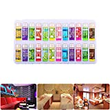 Best Aroma Incense Burners - 5ml×24 Bottles,Water Soluble Essential Oil, Used For Humidifier Review