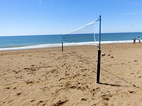 Hammer Netz Cobra Netzanlage - Juego de postes para voleibol