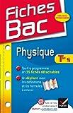 Telecharger Livres Fiches Bac Physique Tle S Fiches de cours Terminale S (PDF,EPUB,MOBI) gratuits en Francaise