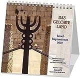 Das Gelobte Land 2019: Postkarten-Kalender mit Israel-Motiven und Bibelworten - Wilhelm Krebber