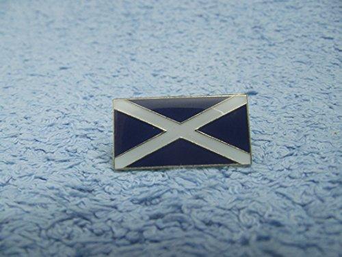 En métal émaillé Motif drapeau écossais croix de Saint Andrew de l'Écosse