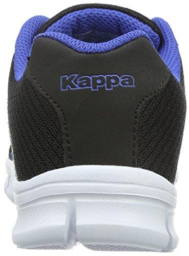 Kappa Flimsy, Baskets Basses Mixte Adulte Noir - Schwarz (1160 black/blue)
