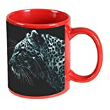 Printland Animal Print Red Coffee Mug 350 - ml best price on Amazon @ Rs. 299