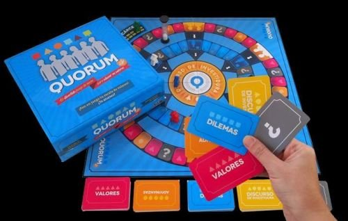 Quorum Life - Juego de mesa para educar en valores