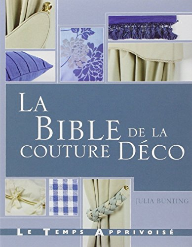 La bible de la couture Déco par Julia Bunting