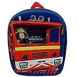 Feuerwehrmann Sam - Kinder 3D Rucksack Jupiter 30x24x10cm