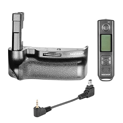 Neewer® Pro Built-in Eigebaute 2.4G LCD Display Wireless Fernbedienung Battery Grip Batteriegriff zusammenarbeitet mit EN-EL14 A Lithium ion Batterie für Nikon D5500