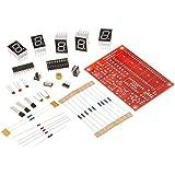 KKmoon 50MHz Crystal Oscillator Frecuencia Contador Tester Kit DIY 5 dígitos Resolución
