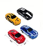 #2: Kuhu Creations® Classical Toys Cars Vehicle Gift Pack. (3 Units, Mix Multicolor)