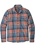 Patagonia Herren M'S Lw Fjord Flannel Hemd, Blau (rootsy Railroad Blue), L