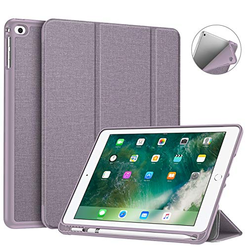 Fintie Funda iPad 9.7 2018 Soporte Incorporado Pencil