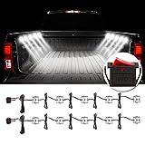 Favoto 10x6 LED LKW Bett Licht Auto Innenraum Beleuchtung mit Schalter IP67 Wasserdicht 5730 SMD LED Streifen Kits 12V für Auto, LKW,SUV, Eiscreme Truck
