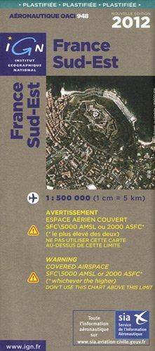 OACI948 FRANCE SUD-EST PLASTIFIEE 2012  1/500.000