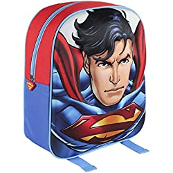 SUPERMAN Mochila 3D Superman Azul