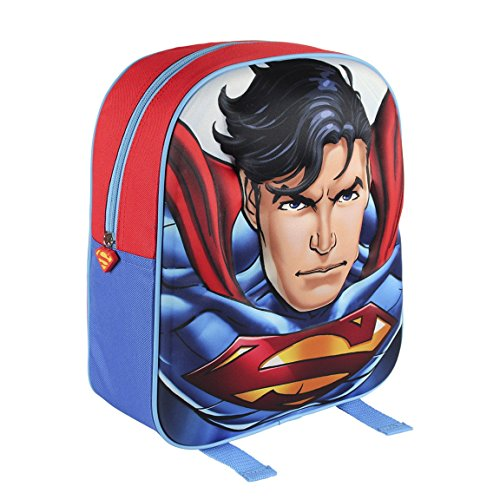 DC 2100001568 31 cm personaggio 3d superman Junior Zaino
