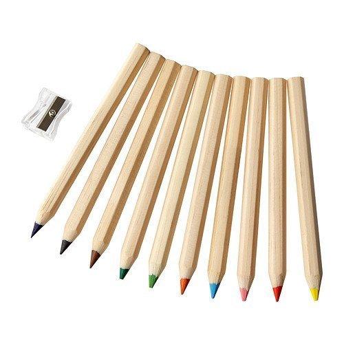 IKEA MALA - Lápiz de color / 10 pack / 10 pack - 180x200 cm