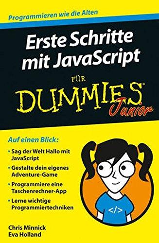 Erste Schritte mit JavaScript für Dummies Junior Buch-Cover