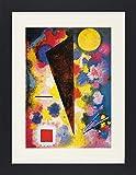 1art1 114021 Wassily Kandinsky - Vielfarbige Resonanz, 1928 Gerahmtes Poster Für Fans Und Sammler 40 x 30 cm