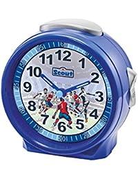 Scout Jungenwecker Wecker und Tischuhren Analog Fussball Blau 280001072