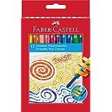 Faber-Castell 120003 Twistable Wax Crayons (Pak van 12)