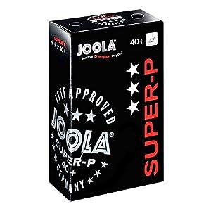 Joola Ball Super-P 40+ 3 Stern 6er, weiß