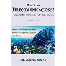Manual de Telecomunicaciones: Fundamentos, normativas, ICT y cuestionarios