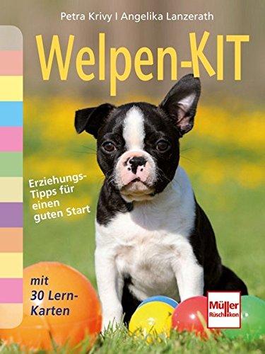Welpen-Kit: Erziehungs-Tipps für einen guten Start mit 30 Lern-Karten