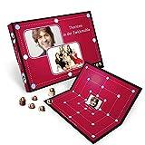 Personalisiertes Foto-Mühlespiel - bedruckt mit ihren Bildern (Pappvariante mit Fotoscheiben)
