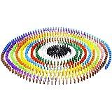 120pcs Juegos de Mesa Establecidos Auténticos Dominó Madera 12 Colores