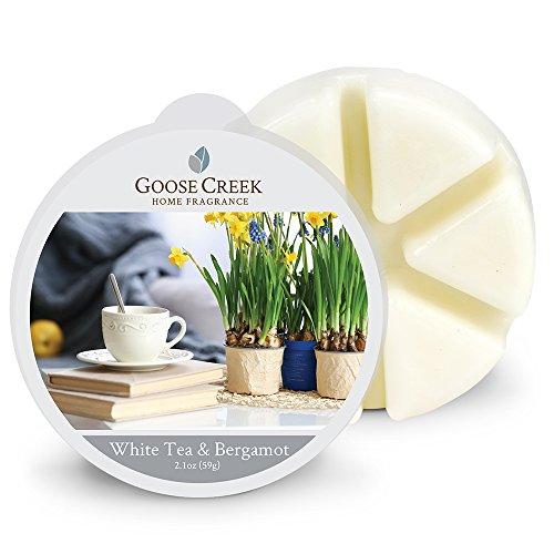 Goose Creek Wax Melt Pack Tee und Bergamotte, weiß