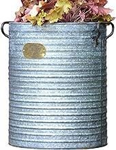 Foras estilo Vintage Artisan Premium galvanizado Zinc Burnham Dolly Tub maceta-Parent