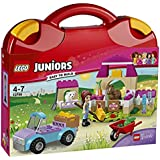 LEGO Juniors Mia's Farm Suitcase Building Blocks for Girls 4 to 7 Years (100 pcs) 10746