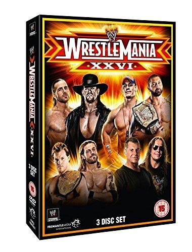 Wwe: Wrestlemania 26 (3 Dvd) [Edizione: Regno Unito] [Edizione: Regno Unito]