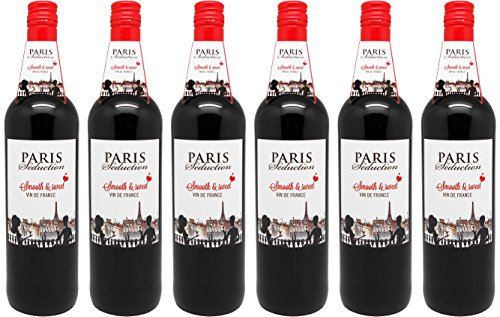 Paris Seduction Vin de France 2015 Süß rotwein (6 x 0.75 l)
